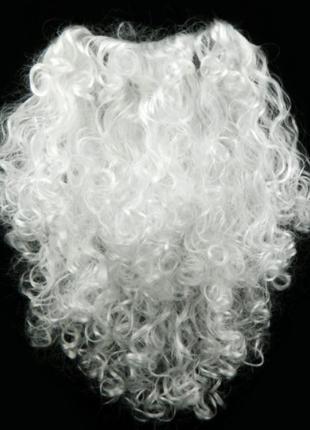 Борода Деда Мороза большая ABC 50 см ЭЛИТ