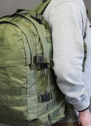Городской тактический штурмовой военный рюкзак 40 л(601-Coyote)
