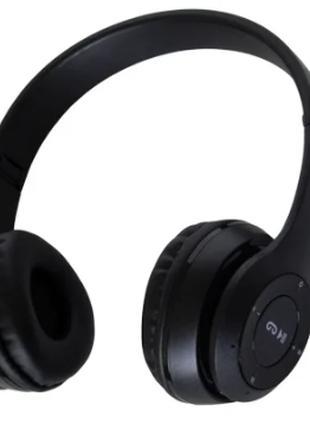 Беспроводные Bluetooth наушники с радио и функцией плеера P47 ...