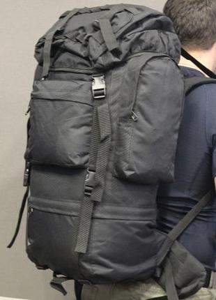 Тактический (туристический) рюкзак на 65 литров black (ta65-bl...
