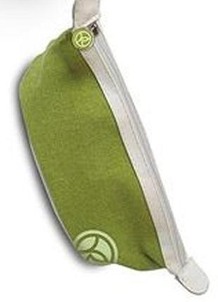 Текстильная косметичка на молнии с логотипом ив роше