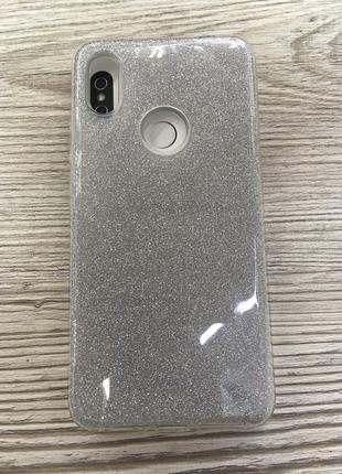 Силиконовый чехол для Xiaomi S2 Shine silver