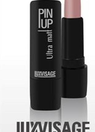 Матовая помада для губ luxvisage pin up ultra matt