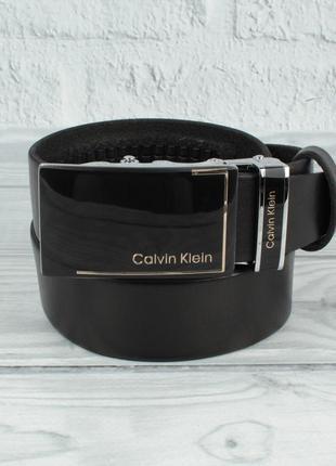 Кожаный ремень автомат мужской  8006-324-g черный, коричневый,...