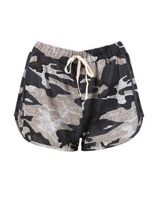 Короткие шорты милитари