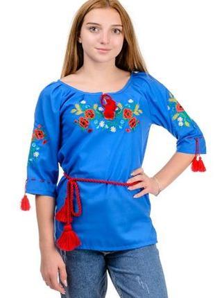 Вышиванка женская ,блузка вышиванка подростковая