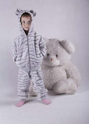 Костюм детский ,пижама махра от 26 по 34 размер