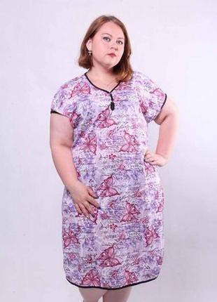 Ночная сорочка,ночнушка женская 52-66 размер