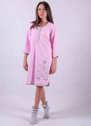Ночная рубашка,ночнушка женская(начес) размер 44-62
