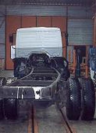 Ремонт рам  вантажних авто причепів та напівпричепів.