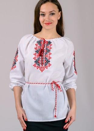 Вышиванка женская ,блуза вышиванка