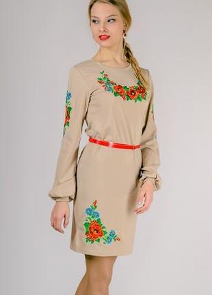 Платье вышиванка женское ,вышиванка платье
