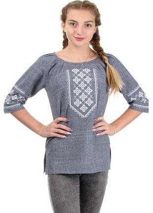 Вышиванка женская,блуза вышиванка