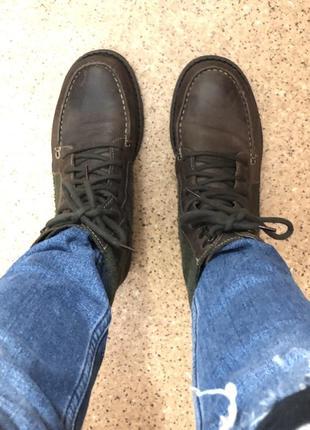 Высокие кожаные ботинки asos !