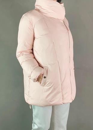 Пуховик одеяло оверсайз куртка зефирка