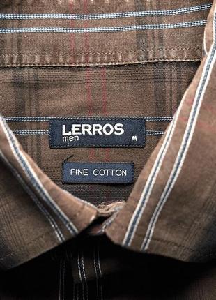 Стильная брендовая мужская рубашка