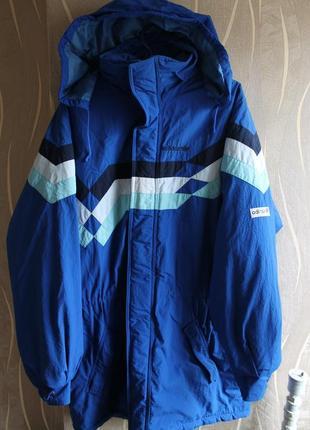 Редкая винтажная зимняя куртка adidas vintage jacket made in y...