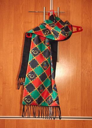 Стильный  итальянский мужской шарф