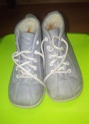 Кожаные ботиночки 23р  salamander