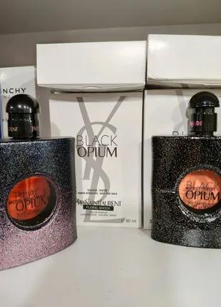 Black Opium. YSL. Блэк Опиум. Ив Сен Лоран.