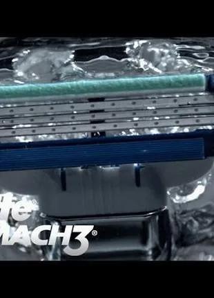 Mach 3 Gillette 8шт/1уп Лезвия