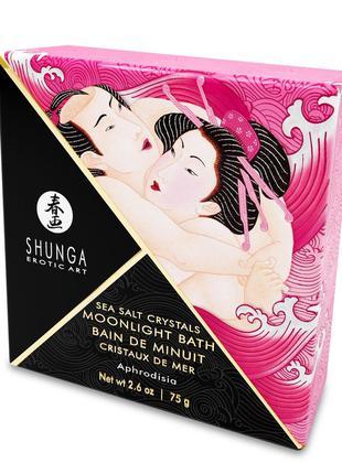 Соль для ванны Shunga Moonlight Bath - Aphrodisia (75 мл), сол...