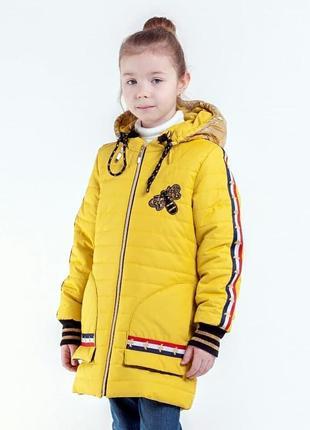Куртка пальто для девочки осень весна