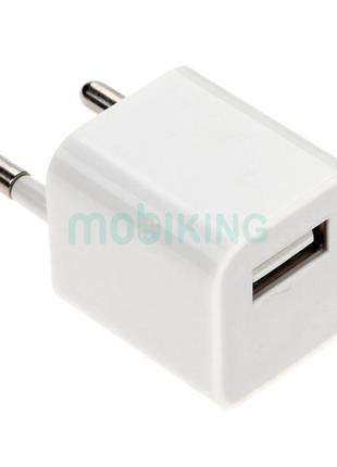 СЗУ USB Original Quality Iphone 3/3Gs/4/4S 1A White + Cable