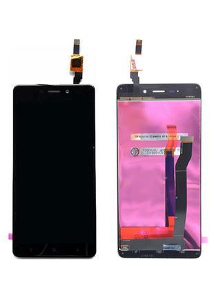 Дисплей (LCD) Xiaomi Redmi 4 с сенсором чёрный