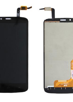 Дисплей (LCD) Huawei Honor 3C Lite (Holly-U19) с сенсором чёрный
