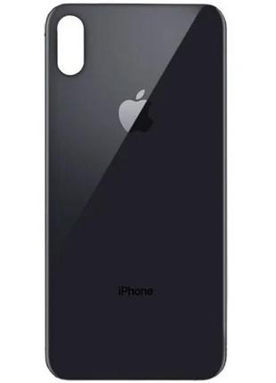 Задняя крышка iPhone XS Black HC