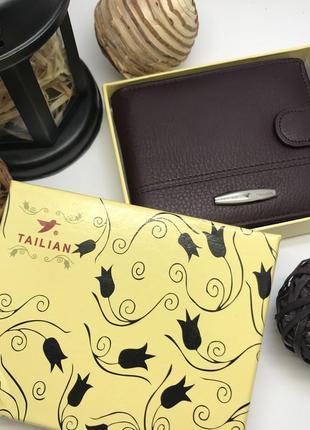 Мужской кошелек с зажимом для денег tailian