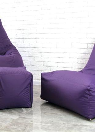 Набор мягкой мебели (груша+диван+пуф) XL кресло мешок President