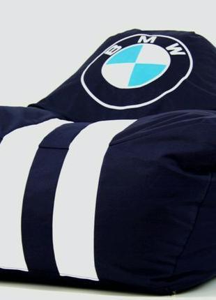 Бескаркасное кресло мешок диван ХL BMW БМВ