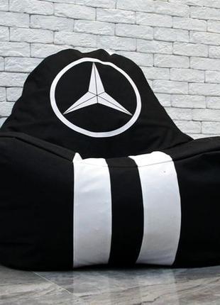Бескаркасное кресло мешок диван ХL Мерседес Mercedes - Benz