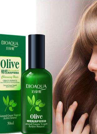 Масло для волос с экстрактом оливы Bioaqua Charming Hair Olive...