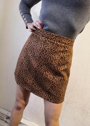 Юбка замшевая, юбка мини