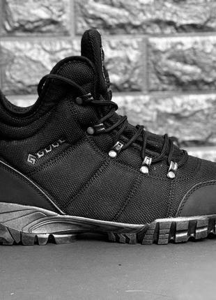 Мужские термо ботинки! треккинговые ботинки!натуральная шерсть!