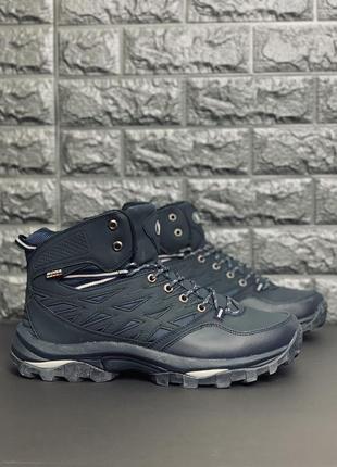 Мужские зимние ботинки! больших размеров! распродажа-70%!bona