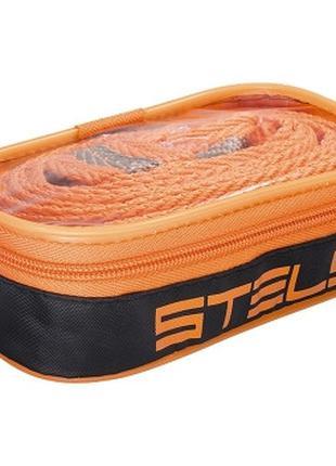 Трос буксировочный 3.5 тонны, 2 крюка, сумка на молнии Stels