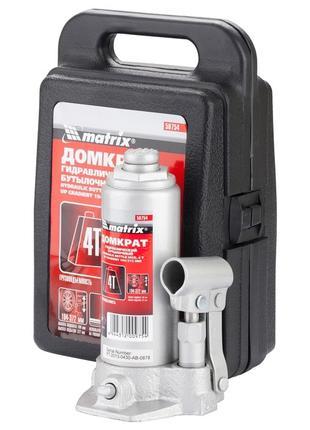 Домкрат гидравлический бутылочный, 2 т, h подъема 181–345 мм, ...