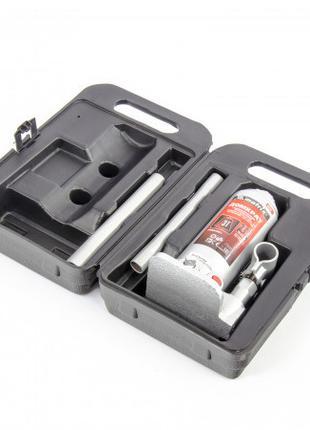 Домкрат гидравлический бутылочный, 3 т, h подъема 194–372 мм, ...