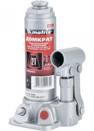 Домкрат гидравлический бутылочный, 2 т, h подъема 181–345 мм//...