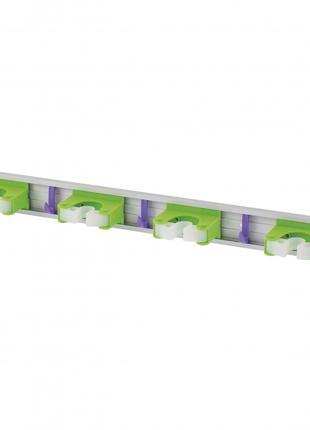 Алюминиевый настенный держатель для садового инструмента, 4 яч...