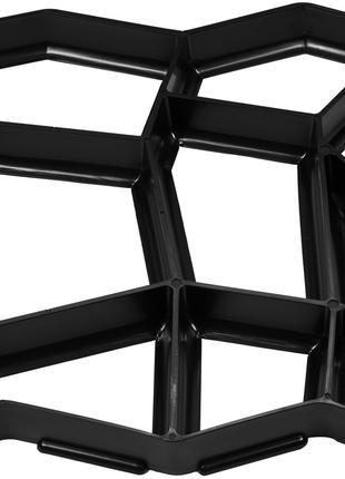 Форма из полипропилена для изготовления брусчатки 430х425х40 м...