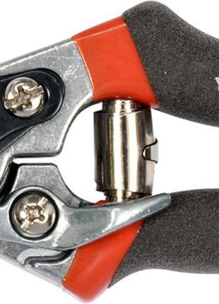 Секатор для обрезки ветки прямой 205 мм (рез 15 мм) YATO (Польша)