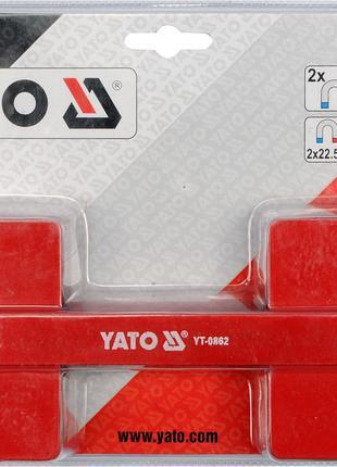 Регулируемый сварочный магнит, усилие 32,5 кг (85х65х22 мм ) YATO