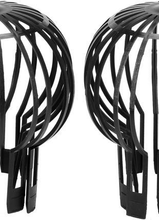 Сетки защитные для водосточных труб Vorel 132 мм пластик FLO (...