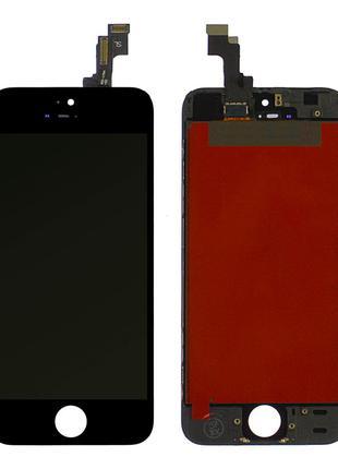 Дисплей iPhone 5s / SE с тачскрином (Black) Original PRC в рамке