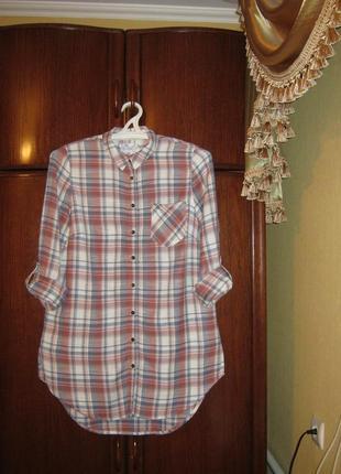 Рубашка-платье falmer heritage, хлопок, размер 14